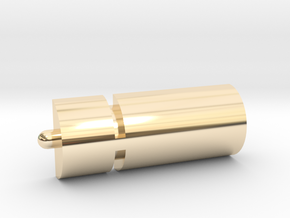 Aurora Sealab Water Heater in 14K Yellow Gold