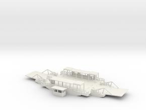 Ropax Fähre - 1:87 in White Natural Versatile Plastic