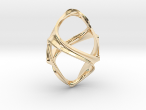Eearring Ornament in 14K Yellow Gold