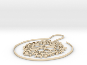 Ohrring Coral in 14K Gold
