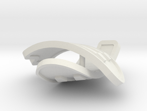 1:6 scale rib armor pair in White Strong & Flexible