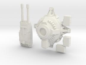 Automatic Turret with magazine crates in White Natural Versatile Plastic