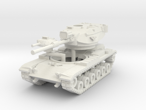 MG144-US02D M60A1 MBT (Seachlight and Smoke) in White Strong & Flexible