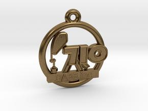 710 OIL Rig Pendant 001 in Natural Bronze