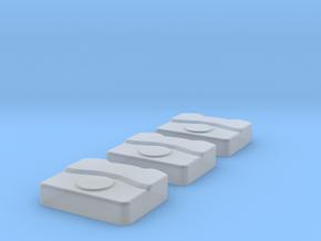 Lüftungseinheit für Einsatzfahrzeuge - Typ 1 - 3st in Smoothest Fine Detail Plastic