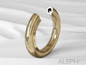 Q Ring in Natural Bronze: 6 / 51.5