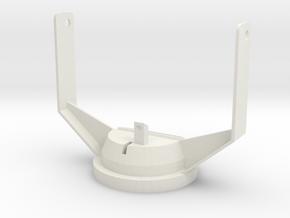 24-M-8 Katyusha launcher Turret 1/35 scale in White Natural Versatile Plastic