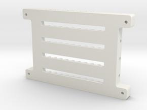 Soporte OA101215Laser Print3Dx1 (2) in White Natural Versatile Plastic