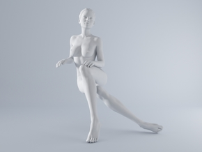 Mini Sexy Woman 021 1/64 in Frosted Ultra Detail: 1:64 - S
