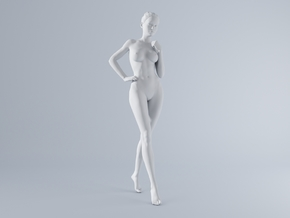 Mini Sexy Woman 027 1/64 in Frosted Ultra Detail: 1:64 - S
