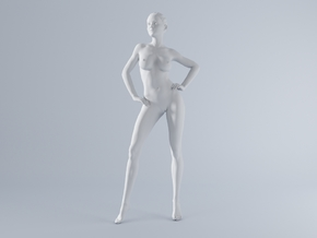 Mini Sexy Woman 032 1/64 in Frosted Ultra Detail: 1:64 - S