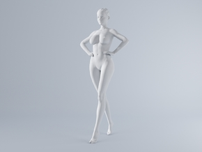 Mini Sexy Woman 035 1/64 in Frosted Ultra Detail: 1:64 - S