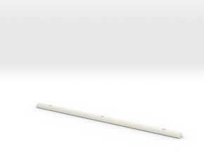 Light Bar Cover in White Natural Versatile Plastic