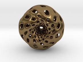 Cube Hopf preimage (edges) in Natural Bronze