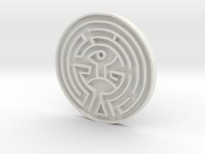 The Maze Replica Westworld in White Natural Versatile Plastic