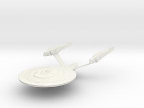 Dedication Class BattleCruiser in White Strong & Flexible