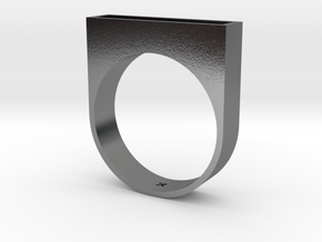 Stair Ring in Polished Silver: 13 / 69