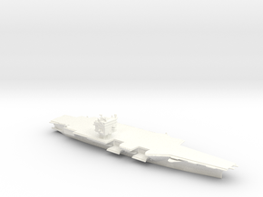 USS Enterprise CVN65 in 1/2500 (SWFP) in White Processed Versatile Plastic