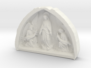 Church of the Immaculate Conception Strabane in White Natural Versatile Plastic: Small