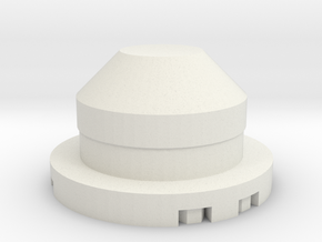 JConcepts Tribute Wheels Scale Plug in White Natural Versatile Plastic