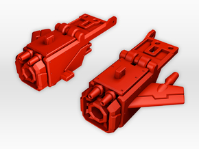 TR Frenzy Piledriver Accessories  in Red Strong & Flexible Polished