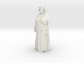 Printle C Femme 003 - 1/32 - wob in White Natural Versatile Plastic