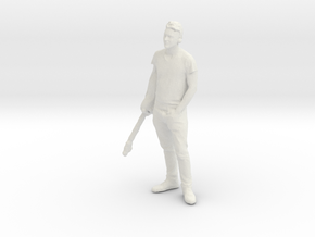 Printle C Homme 034 - 1/72 - wob in White Strong & Flexible