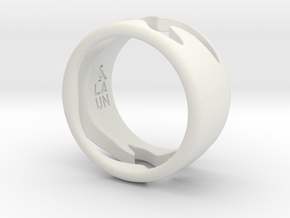 Bird Ring-Sky (Purchase with Bird Ring - Bird) in White Natural Versatile Plastic: 7 / 54