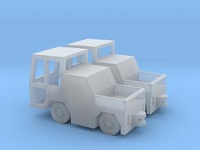 GSE 1:144 2x Volk HFZ30N Baggage Tractor in Smooth Fine Detail Plastic