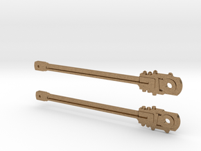 HO Scale Main Rods in Natural Brass