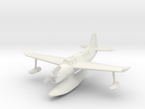 Curtiss SO3C Seamew (with floats) 1/144 in White Natural Versatile Plastic