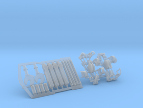 1:30 50cal Machine Gun Set in Frosted Ultra Detail