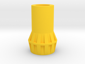 PRHI Jeeg/Karza/Force Commander Connector in Yellow Processed Versatile Plastic