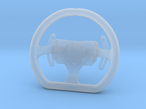 Steering Wheel P-GT4-Type - 1/10 in Smooth Fine Detail Plastic
