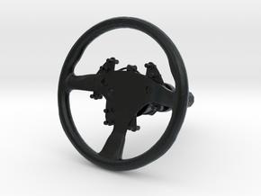 Steering Wheel P-RSR-Type - 1/10 in Black Hi-Def Acrylate