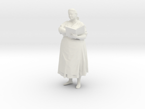 Printle C Femme 039 - 1/24 in White Strong & Flexible