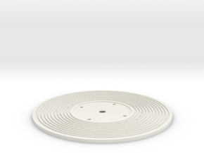 A Car Song - Fisher Price-style music box record in White Strong & Flexible