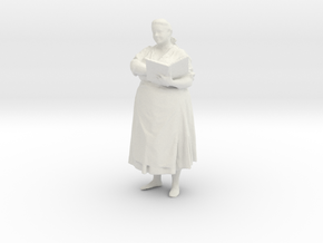 Printle C Femme 039 - 1/35 - wob in White Strong & Flexible