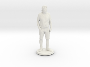 Printle C Homme 409 - 1/24  in White Strong & Flexible
