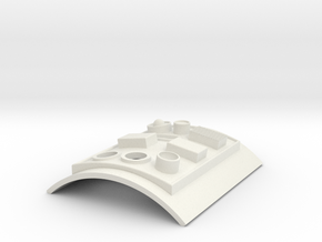 Ground Crew Commpad Lens in White Natural Versatile Plastic