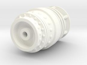 McGann Console - Time Rotor Enclosure in White Processed Versatile Plastic