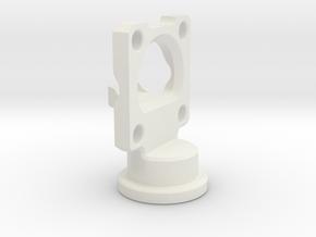 BeamsplitterAndWavePlateMount in White Natural Versatile Plastic