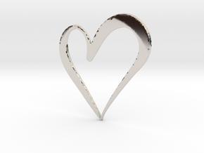 Big Heart in Platinum