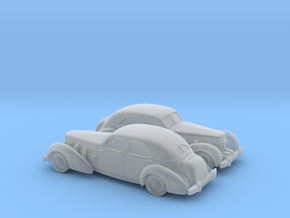 1/160 2X 1935 Cord 812 Sedan in Frosted Ultra Detail