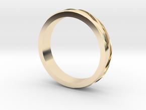 "Ring ""Profil"" in 14K Yellow Gold"