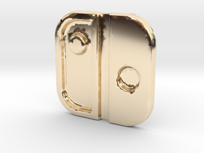 Switch Logo: Version 2 in 14K Yellow Gold