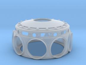 Le Rhone- 80hp - Crank Case - 1:4 Scale in Smooth Fine Detail Plastic