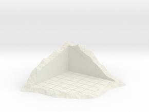 Corner Of Structure In Shamble in White Natural Versatile Plastic