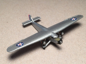Ford 5-A-TC Trimotor 1/285 Scale in Smooth Fine Detail Plastic