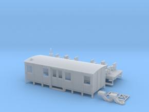 Fakultativwagen RLE 85, Spur H0 (1:87) in Smooth Fine Detail Plastic